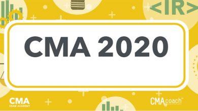 Photo of اخر تعديلات شهادة CMA [ معلومات كورس CMA 2020 ]
